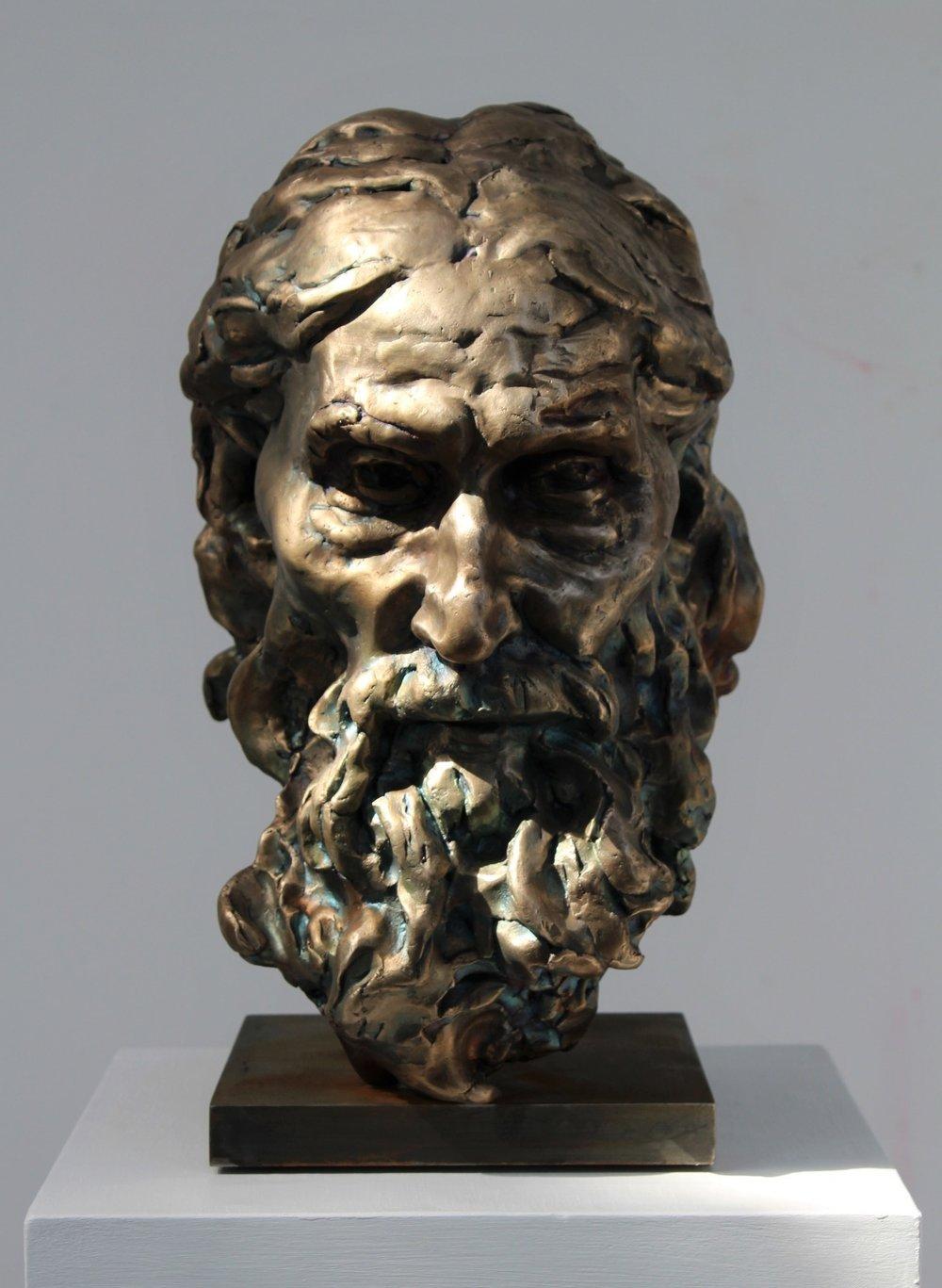 'After Rodin', bronze, 2014