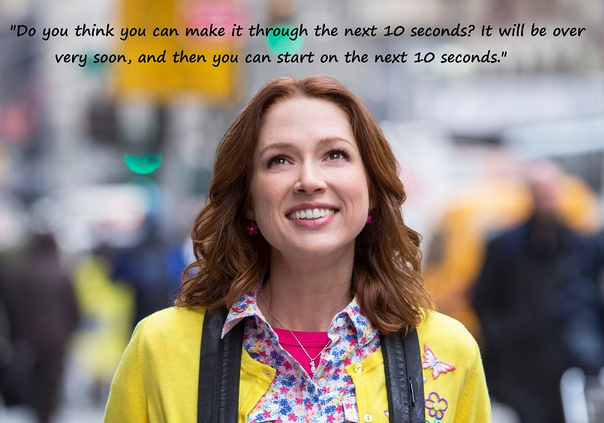 Kimmy Schmidt - You can do anything for 10 seconds!
