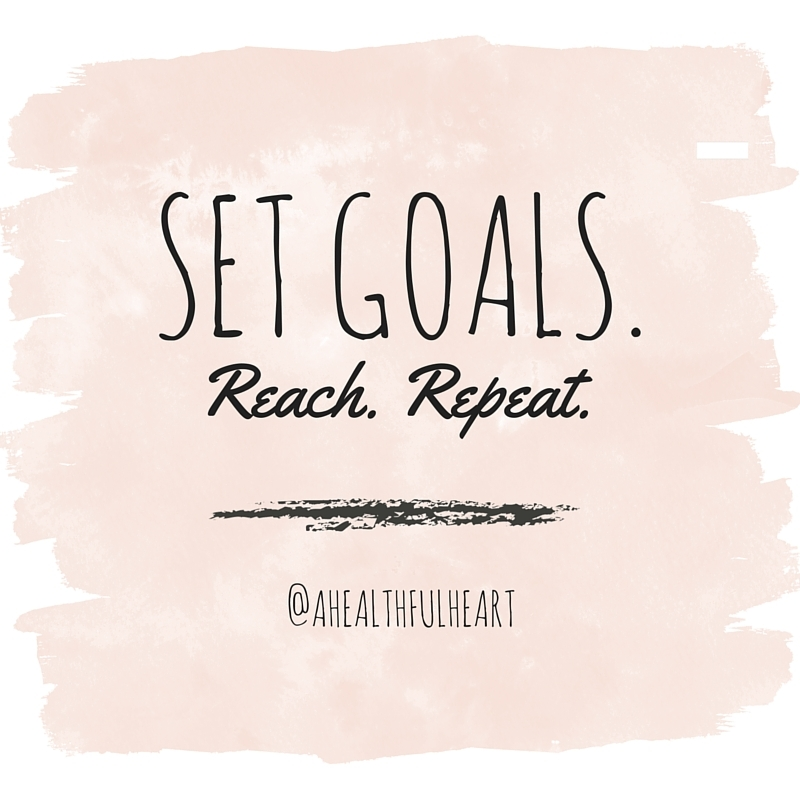 Setting goals and reflecting on the past year. What did you get accomplished and what do you want to achieve?