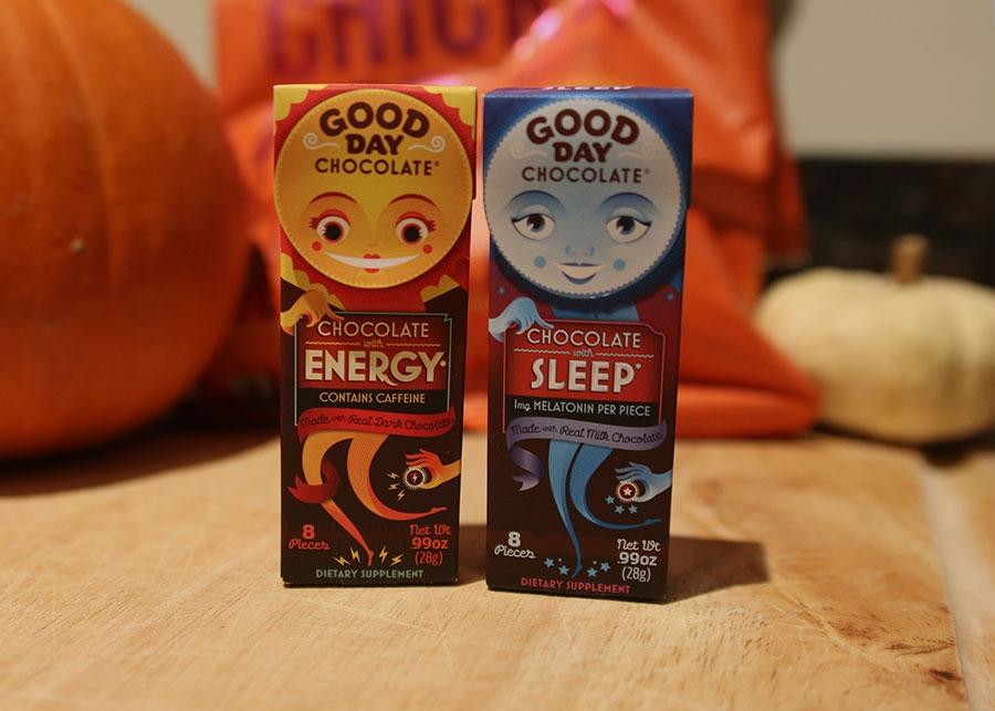 Energy & Melatonin Chocolates