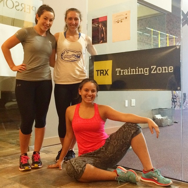 TRX Group Suspension Certification!