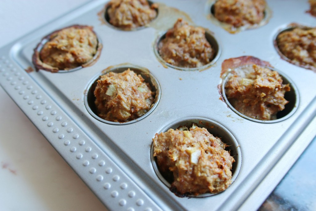 Turkey Muffins from Jamie Eason's LiveFit program
