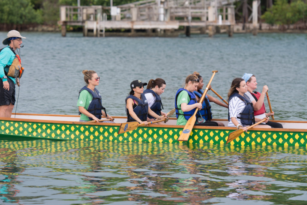 Dragon boating!