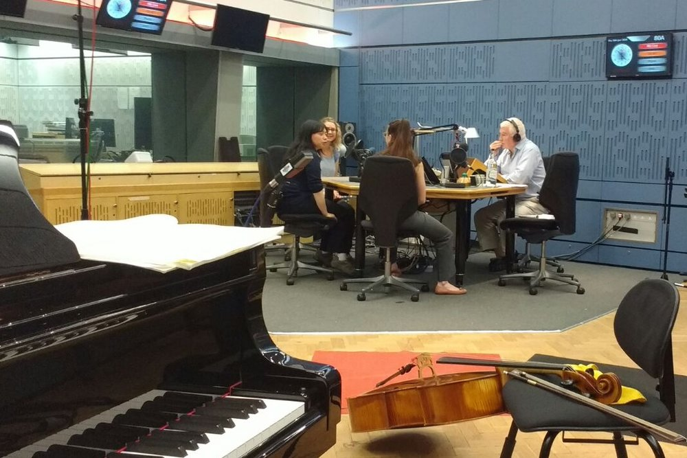 Playing live on BBC3 'In Tune' with Sean Rafferty