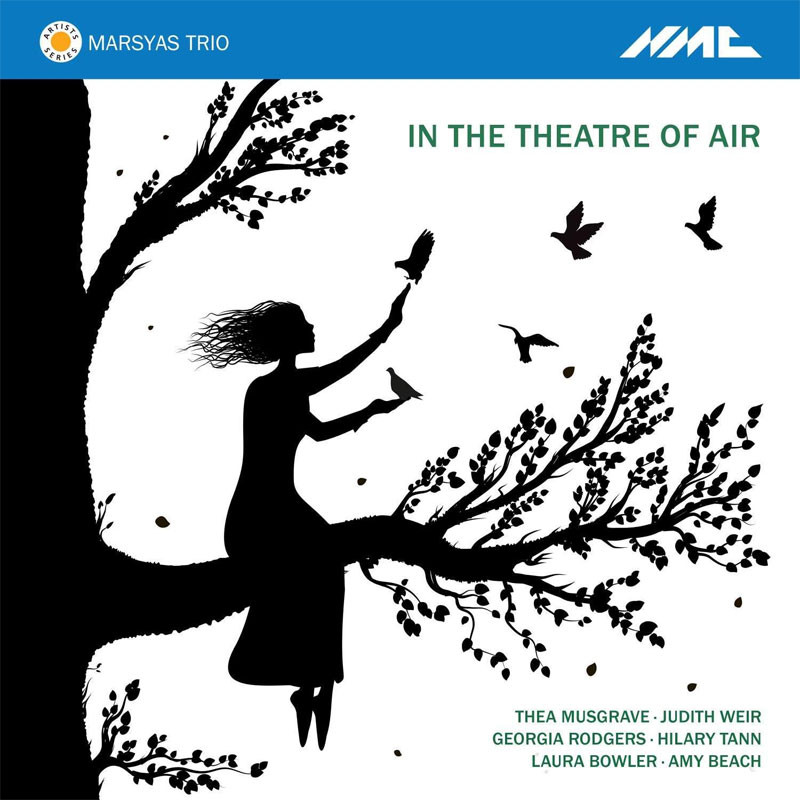 CD cover - In the Theatre of Air