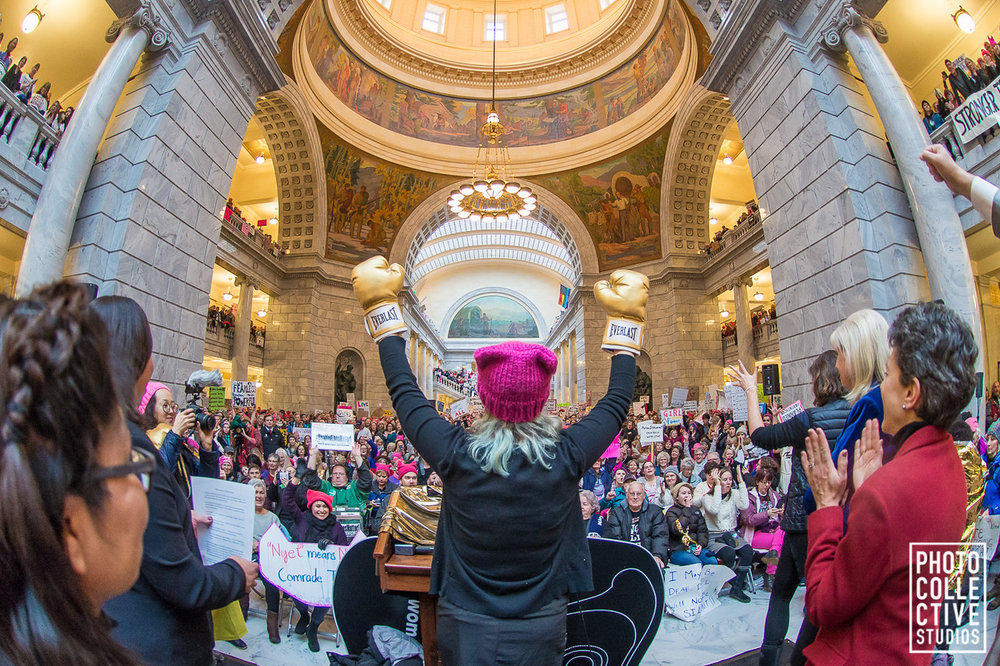 Utah Women Unite March, Photo Collective Studios