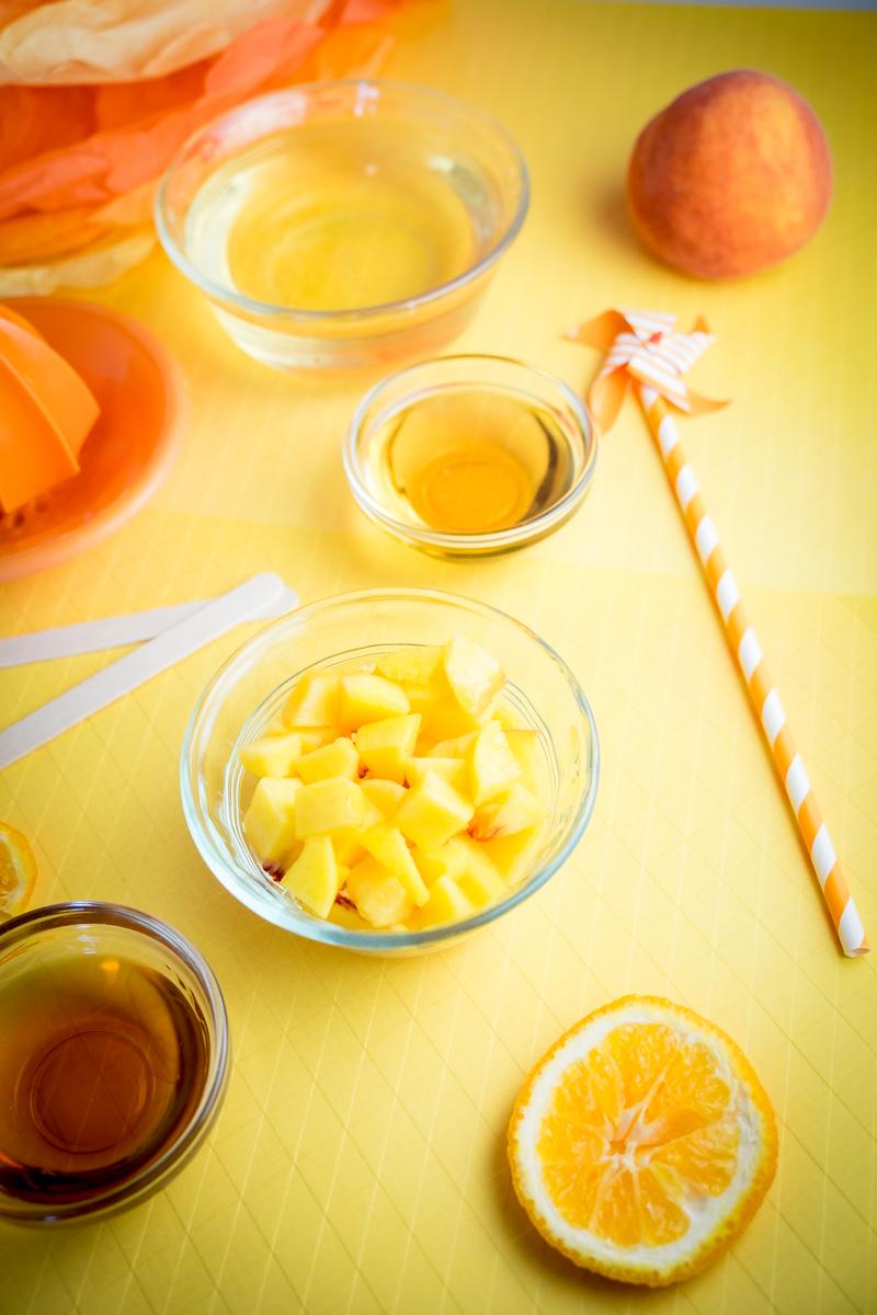 Peachy Orange Sangria Pops Ingredients