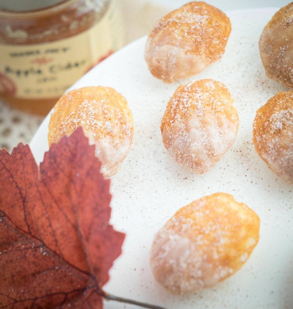 apple-pie madeleines