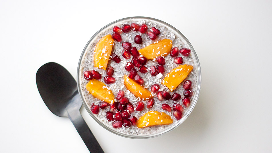 chia-seed-pudding-persimmon-pomegranate