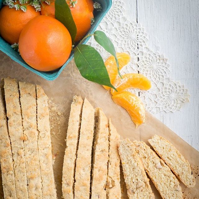 This recipe for Hazelnut & Orange Blossom Biscotti will brighten up your kitchen this week. Get the goods today on A Sweet Little Life. #biscotti #hazelnut #orangeblossom #biscottirecipe #asweetlittlelife