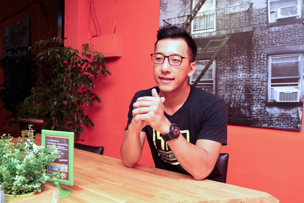 Kitchen & Bar美式餐廳負責人王嘉偉