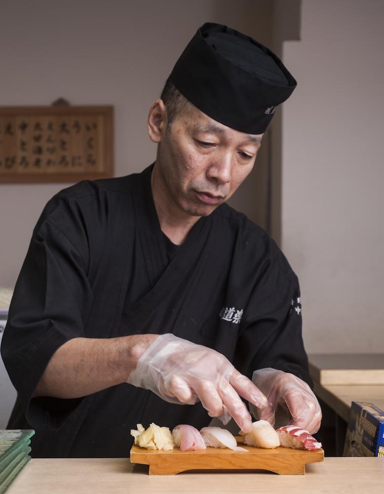 喰道樂本格和食料理長田中清一