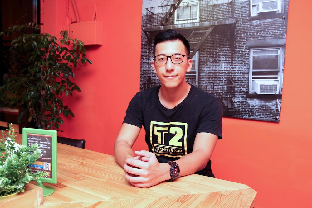 桃園T2 Kitchen & Bar美式餐廳負責人王嘉偉(圖片提供:王嘉偉)