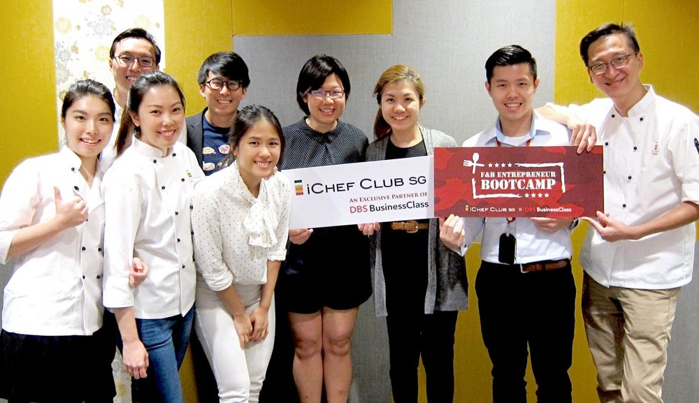 iCHEF SG hosted our first F&B Entrepreneur Bootcamp on Oct. 25th at DBS