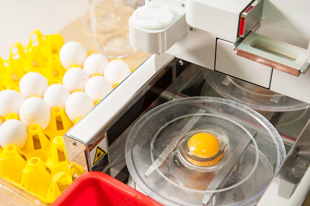 每顆雞蛋經過檢驗都是霍夫值達 80 以上的AA級最高級別雞蛋。