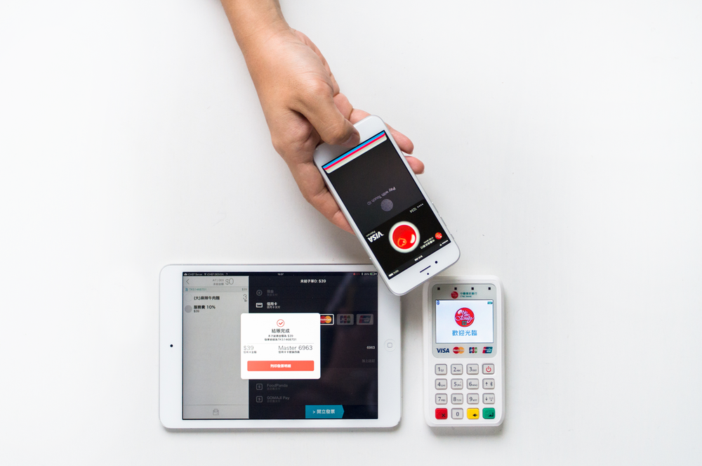 iPad POS 系統業界率先支援 Apple Pay
