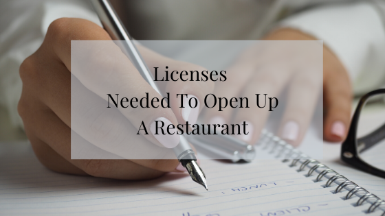 Licenses Needed To Open A Restaurant Ichef Club My
