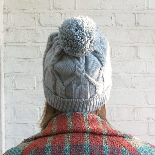 Meet Rilo A Free Cabled Hat Pattern Sister Mountain