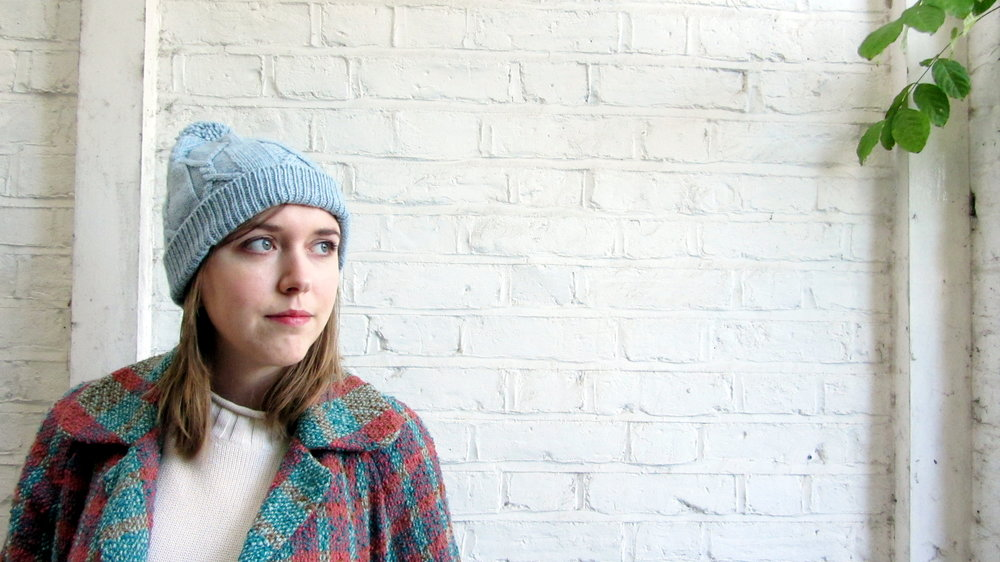 Rilo Cabled Hat Free Knitting Pattern