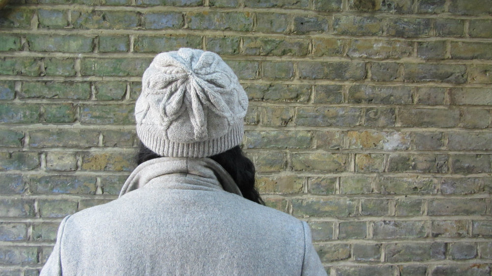 Rilo Cabled Mens Beanie Hat Pattern