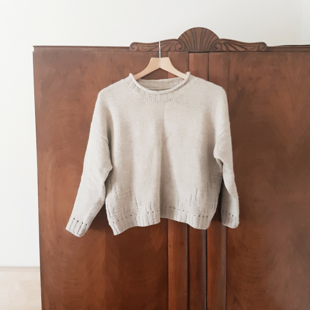 Clare Mountain Split Stone Sweater