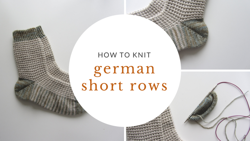 Easy Short Rows How To Knit German Short Rows Sister Mountain