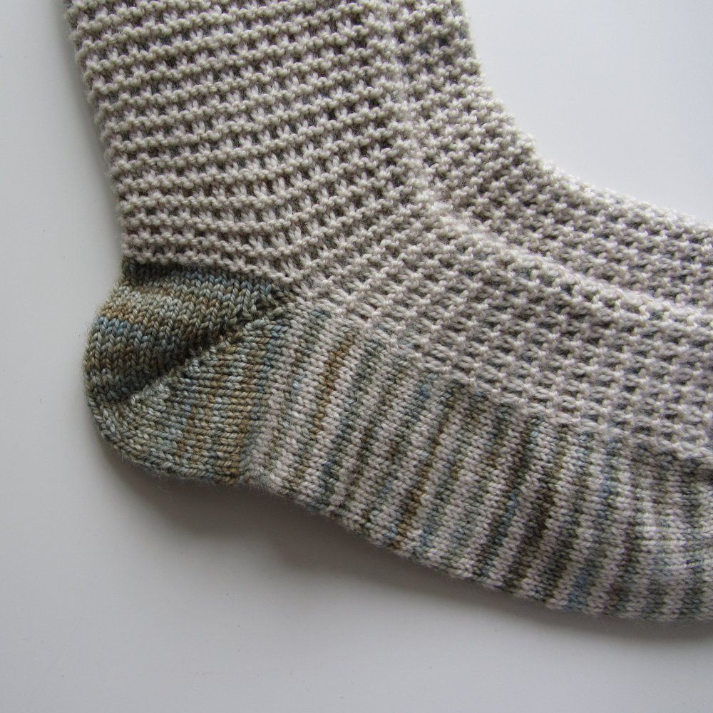 German Short Row Heel