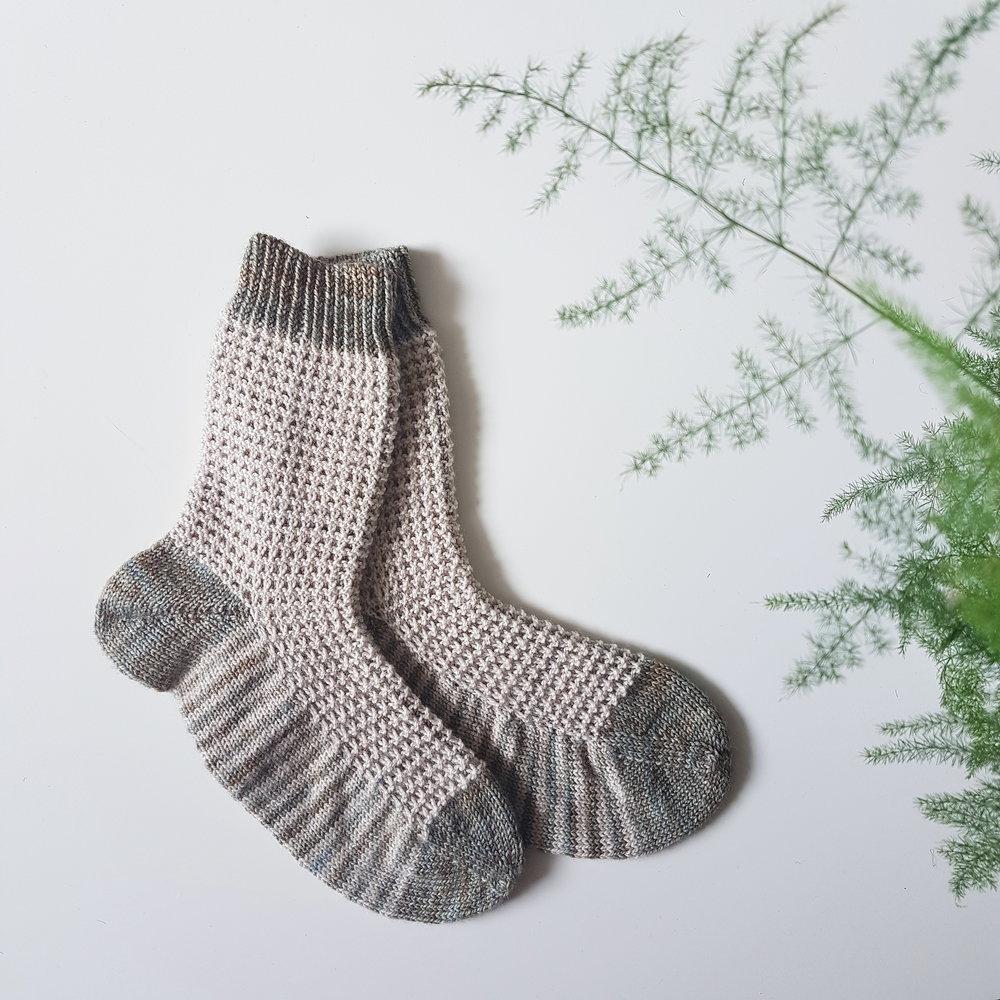 Gaufre - Free Sock Pattern