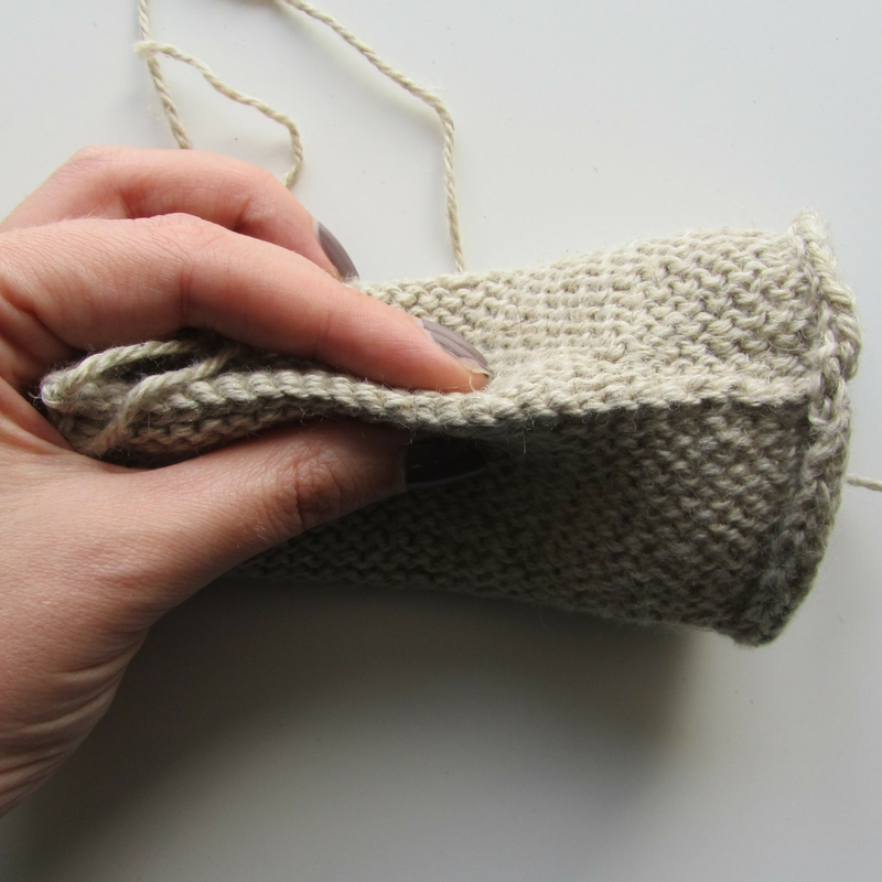 How to Knit the Three Needle Bind-Off
