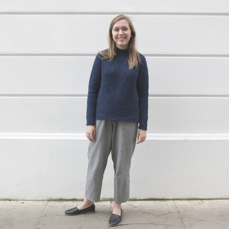 Shorthand Sweater by Clare Mountain
