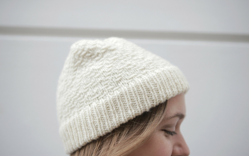 Bowman Hat Knitting Pattern by Clare Mountain