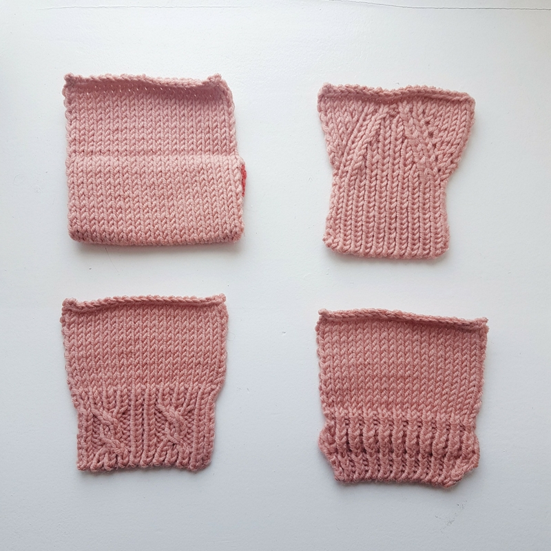 Knitted Trim Ideas