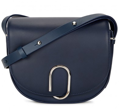 3.1 PHILIP LIM Alix Navy Leather Cross-body Bag, £735/$932