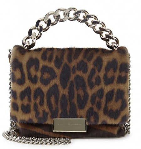 STELLA MCCARTNEY Beck Small Leopard-print Cross-body Bag, £585/$711