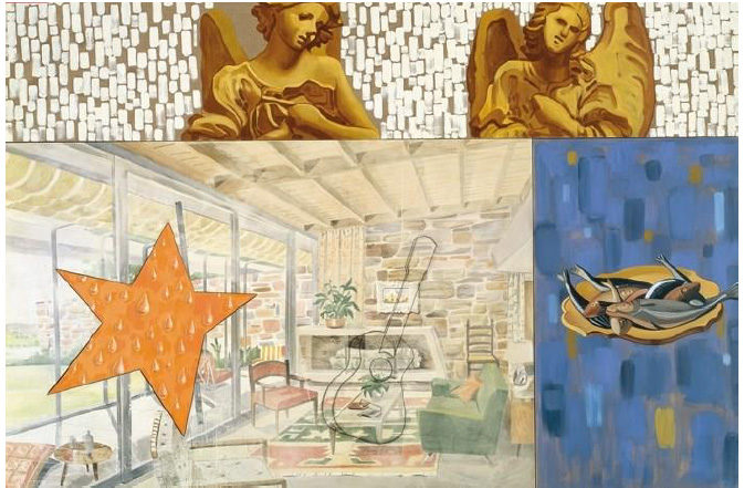 DAVID SALLE - Mr. Lucky, 1998