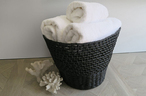 KELLY HOPPEN - Black Wicker Basket, £95