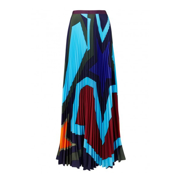 MARY KATRANTZOU - Pelar Printed Crepe de Chine Skirt, £1,200