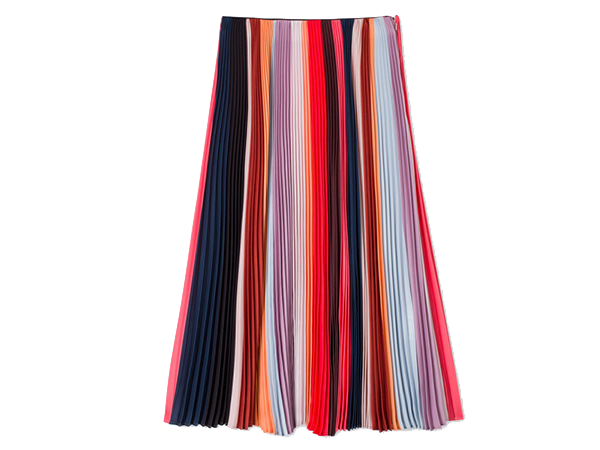 PAUL SMITH - 'Sunray-Stripe' Pleated Skirt, £580/$995