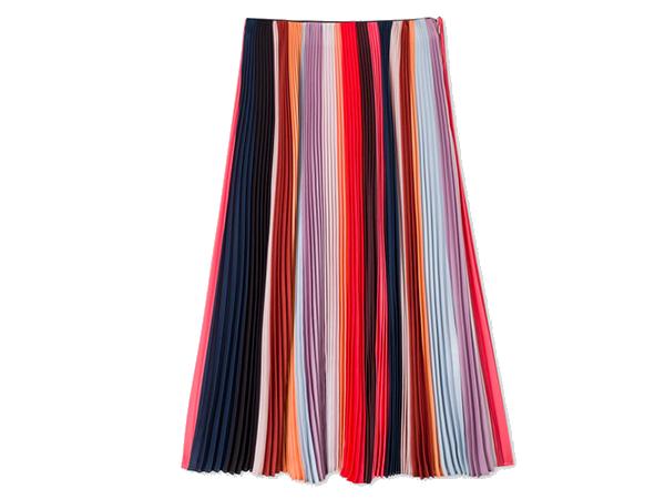 PAUL SMITH -'Sunray-Stripe' Pleated Skirt, £580/$995