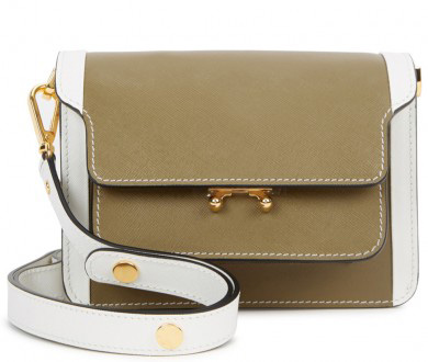MARNI - Trunk mini saffiano leather shoulder bag, £1,160