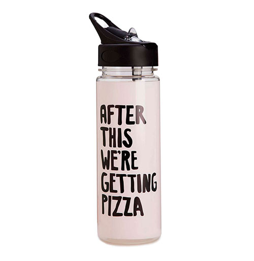 Ban.do After This We Are Getting Pizza Water Bottle, £19
