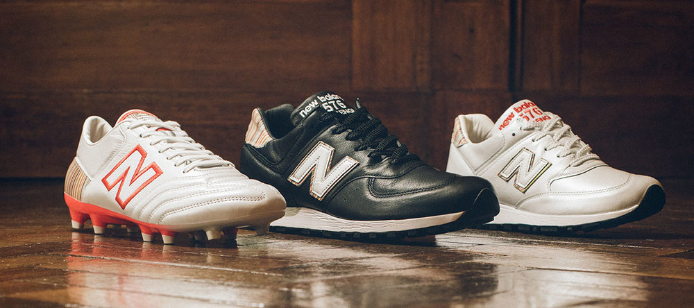 619acee24 One of the more stand out items for us is the collaboration between Paul  Smith and New Balance.