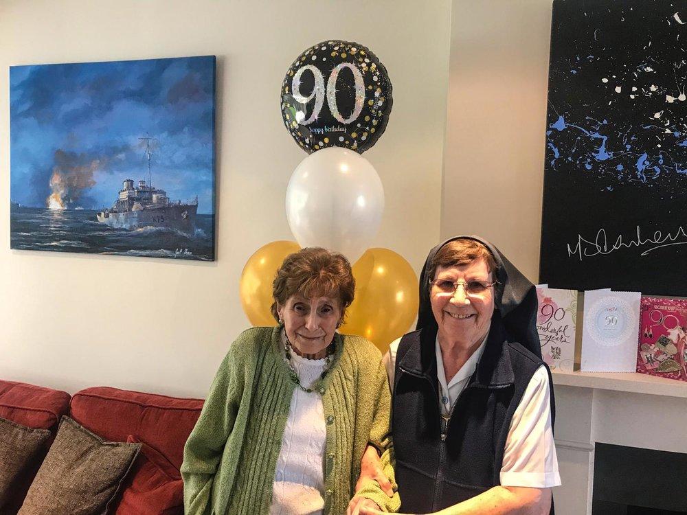 Margot's 90th celebration