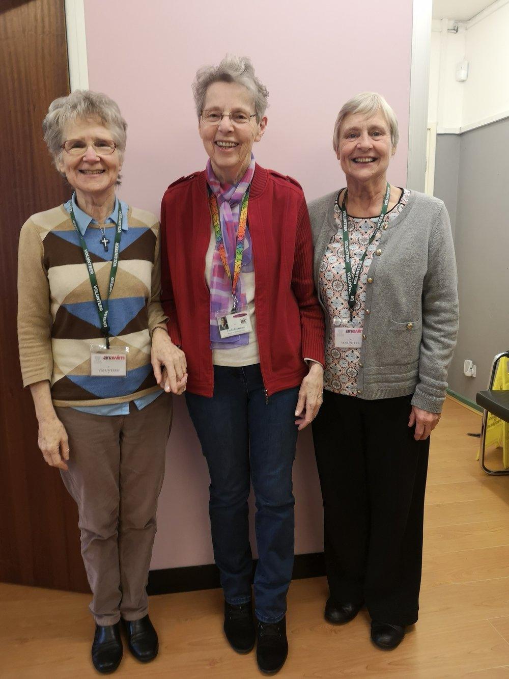 l to r: Sisters Marie, Enda & Margaret