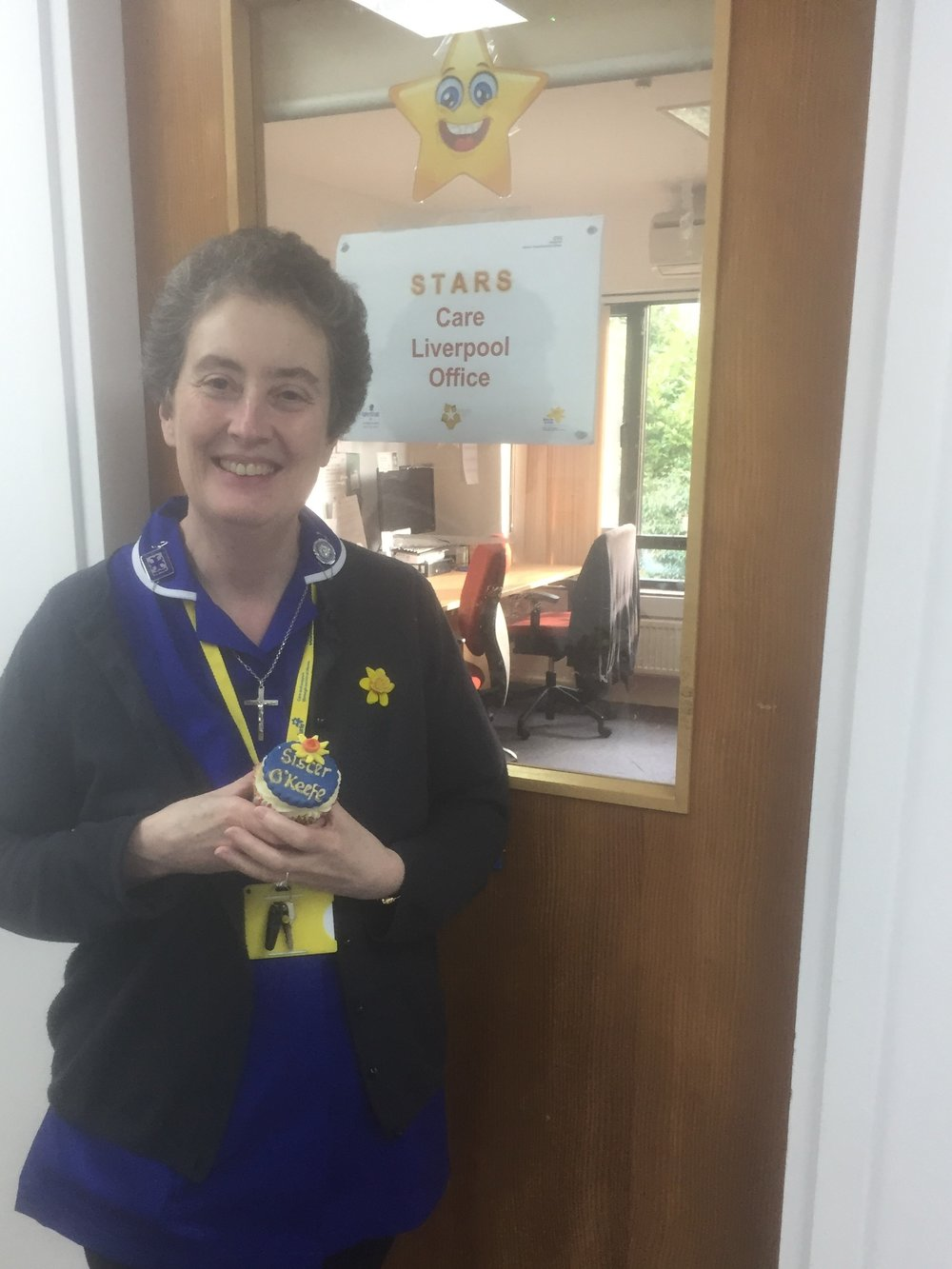 Sr Siobhan : an Easter gift from a patient, a woman in her sixties