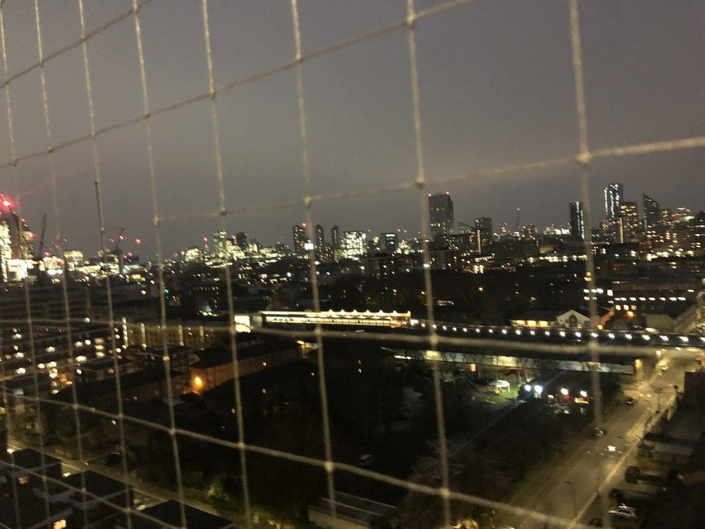 The view from the 13th floor