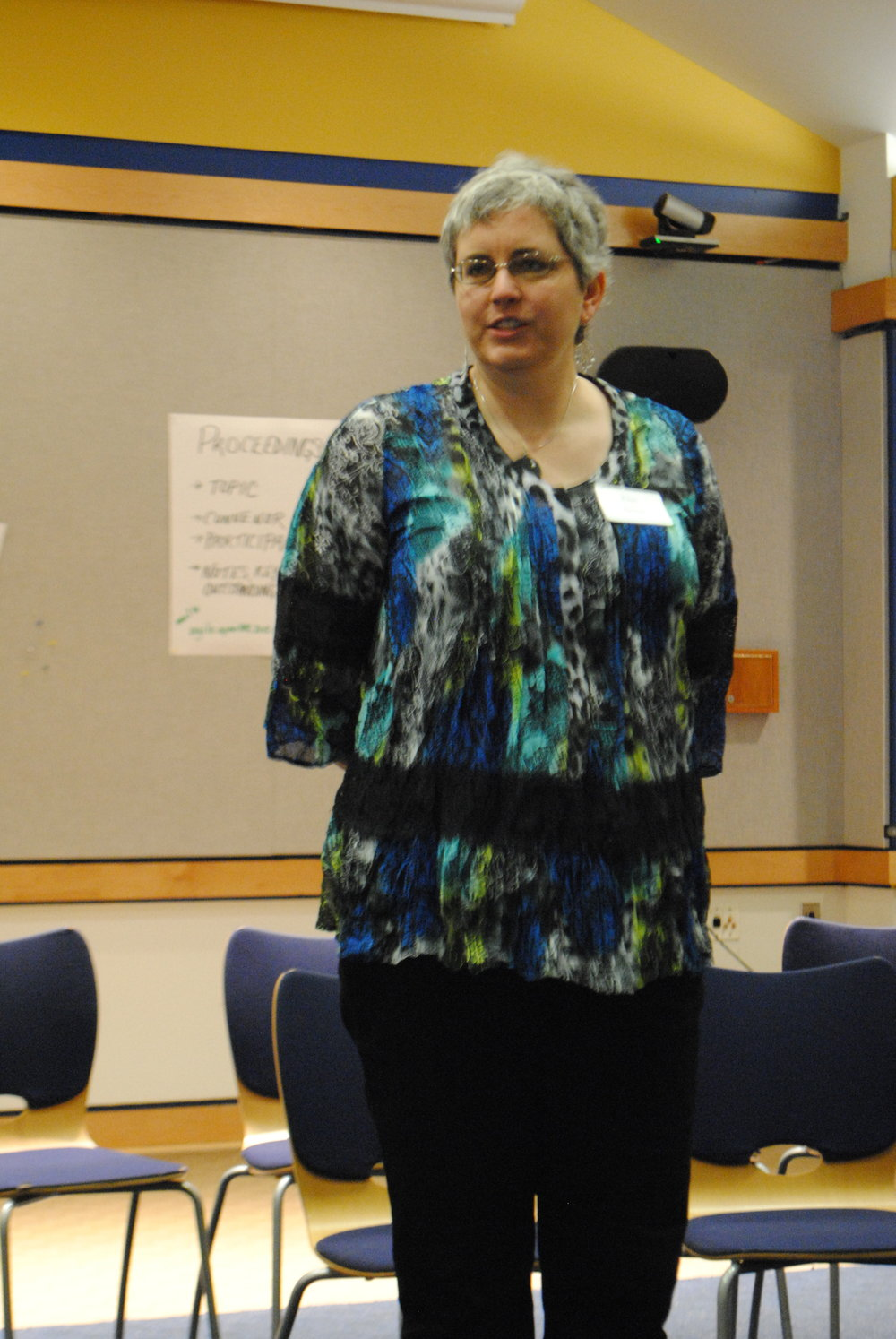 Facilitator Ellen Grove