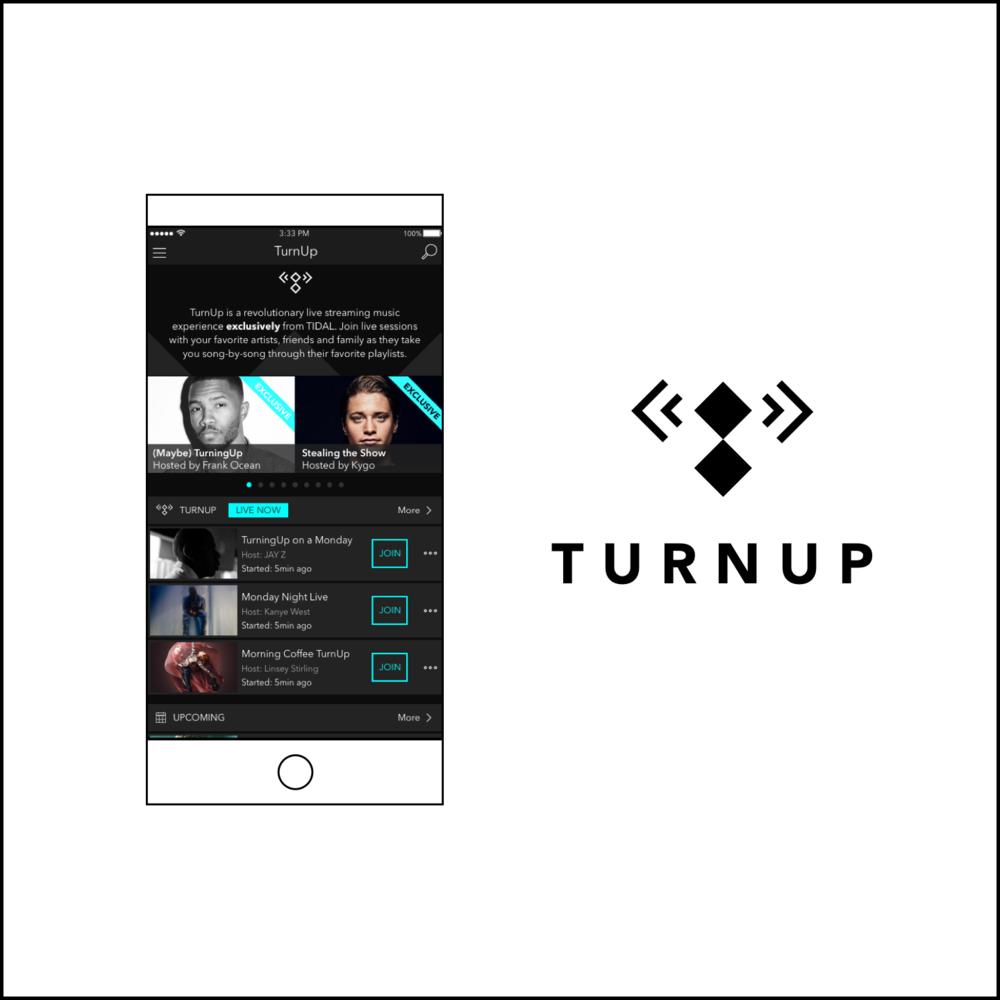 UX Case Study: TIDAL TurnUp