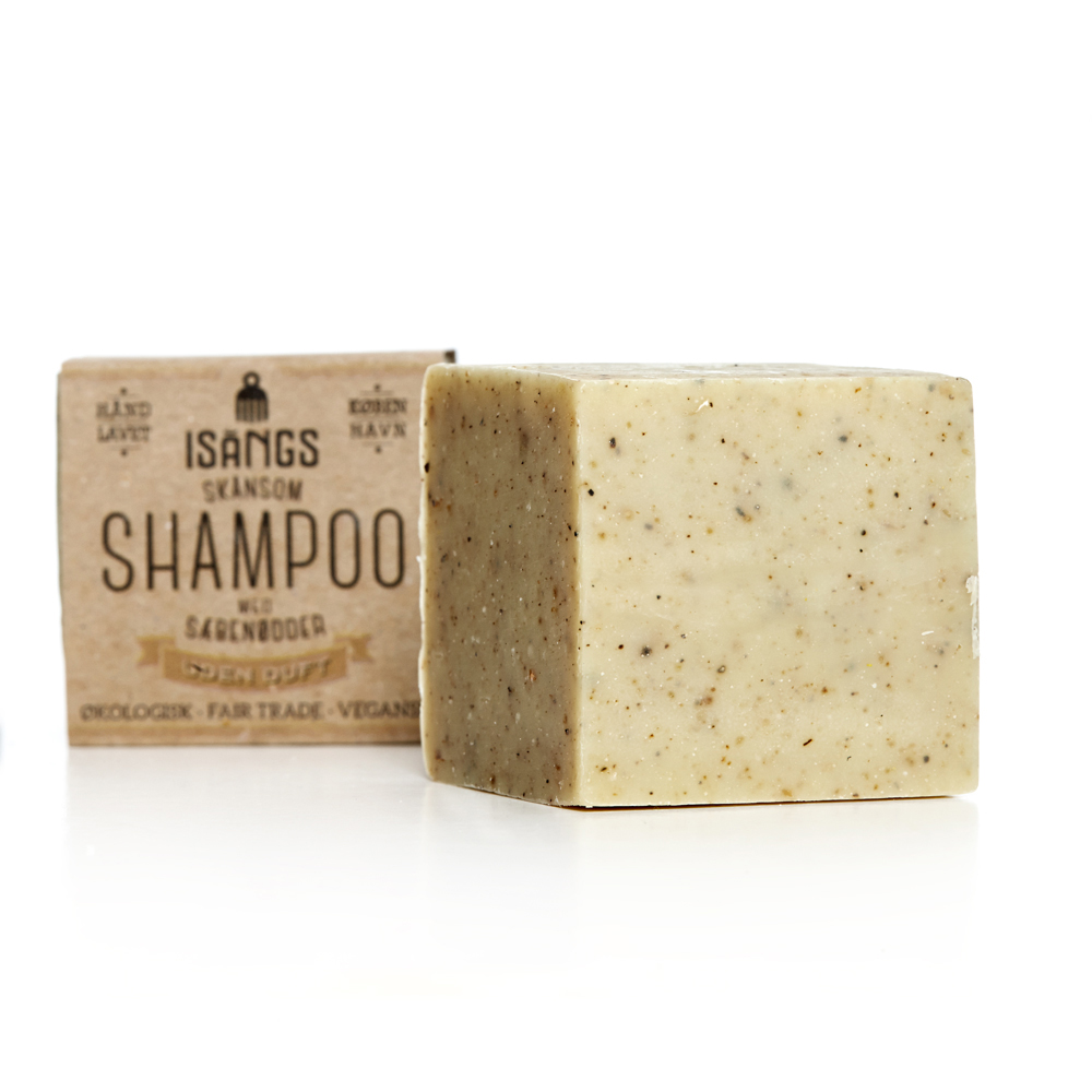 ØKO SHAMPOO BAR  - ØKOLOGISK // FAIR TRADE // VEGANSK