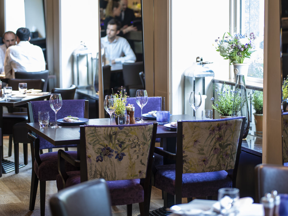 Bringing a flavour of Chartwell gardens to the city - A modern British all-day dining destination in the heart of Marylebone. Executive Chef, Mark Sainsbury, and his team serve seasonal food using local suppliers and fresh British produce.